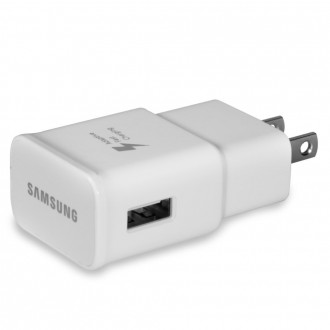 Samsung 2.0A Fast Adaptive USB Travel Adapter Wall Charger