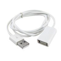 USB 2.0 Male to Female Extension Adapter Cable Cord (1m)