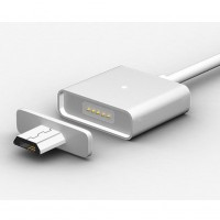 Magnetic Metal Adapter Charger Micro USB Charge & Sync Cable for Samsung Android
