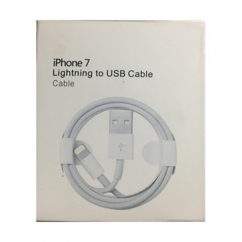huge discount 9df89 148a6 Lightning to USB Cable for iPhone 7 / 7 Plus (1m), Retail Package