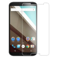 Premium Tempered Glass Screen Protector for Google Nexus 6